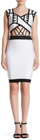 Wow Couture Sleeveless Lace Up Cutout Dress