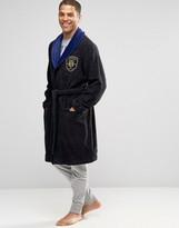Tommy Hilfiger Preppy Robe In Navy