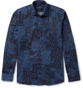 Etro - Slim-fit Paisley-print Washed-cotton Shirt