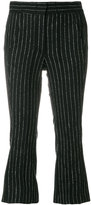 Hache cropped pinstripe trousers