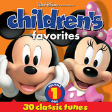 Disney Children's Favorites Volume 1 CD