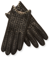 Portolano Chain Leather Gloves