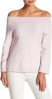 Alternative Burnout Off-the-Shoulder Pullover