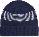 A.p.c. - Derek Striped Wool Beanie