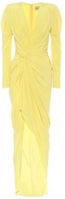 Alexandre Vauthier Stretch-silk gown