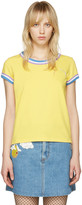 Marc Jacobs Yellow Rainbow 70's T-Shirt