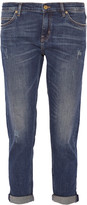 MiH Jeans The Tomboy distressed mid-rise boyfriend jeans