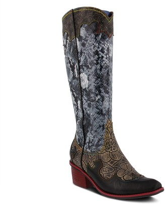 Spring Step L'Artiste by Leather Western-StyleBoots - Rodeo