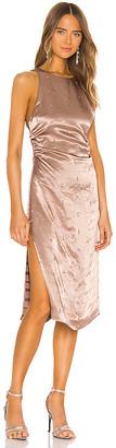 GRLFRND Frank Midi Dress