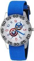 Marvel Boy's 'Emoji' Quartz Plastic and Nylon Casual Watch