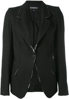 Ann Demeulemeester flared sleeves blazer - women - Cotton/Rayon/Viscose - 38