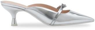 Kate Spade Carnation Metallic Kitten-Heel Sandals