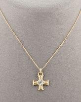 Zasha Cross Pendant Necklace