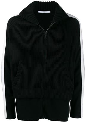 Givenchy Ribbed Fleece Jacket