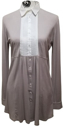 BEIGE Non Signe / Unsigned Top for Women