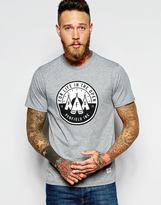 Penfield T-shirt With High Plains Print - Grey