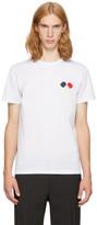 Moncler White Maglia T-Shirt