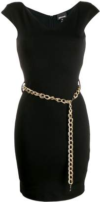 Just Cavalli chain belt dress