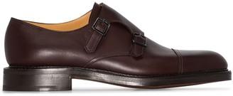 John Lobb William double-strap monk shoes