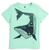 Tea Collection Toddler Boy's Whale Then Graphic T-Shirt