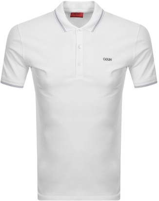 HUGO BOSS Dinoso 203 Polo T Shirt White