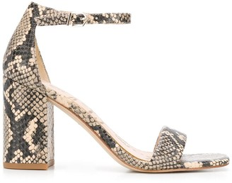 Sam Edelman Snake Print Sandals