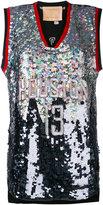 Night Market - Huston embroidered NBA tank - women - Polyester - XXXS