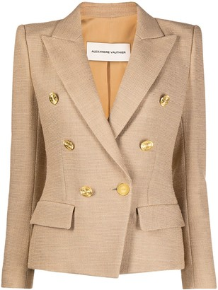 Alexandre Vauthier Fitted Double-Breasted Blazer