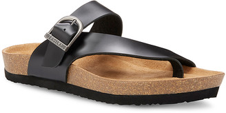 Eastland Women's Sandals BLACK - Black Shauna Leather Sandal - Women