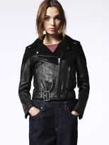 Diesel DieselTM Leather jackets 0PANP - Black - M