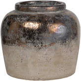 A&B Home Bronze & Tan Ceramic Vase