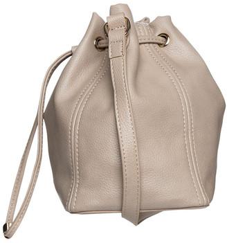 Mocha Gabi Bucket Bag - Taupe