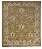 Solo Rugs Oushak Floral Border Wool Rug
