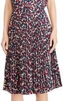 Lauren Ralph Lauren Petite Geometrical A-Line Skirt