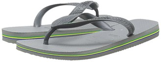 Havaianas Brazil Flip Flops (Steel Grey) Women's Sandals
