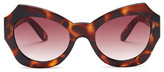 MinkPink Women&s Haute in Here Polycarbonate Frame Sunglasses