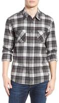 Quiksilver Men's Major Reform Twill Plaid Flannel Shirt