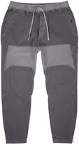 Stone Island Shadow Project Grey panelled cotton-blend sweatpants