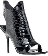Max Studio Etoile – Patent Leather Laser Cutout Booties
