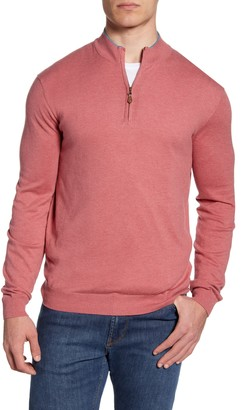 johnnie-O Bailey Quarter Zip Sweater