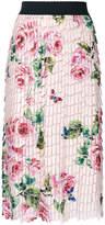 Dolce & Gabbana printed collage skirt