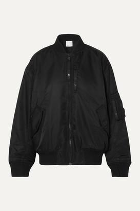 Reebok x Victoria Beckham Shell Bomber Jacket - Black