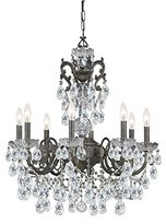Crystorama Legacy Chandelier - 23.5W in. English by