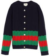 Gucci Wool Knit Cardigan