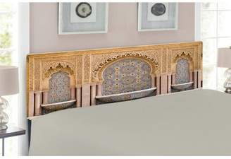 East Urban Home Moroccan Queen Upholstered Panel Headboard East Urban Home