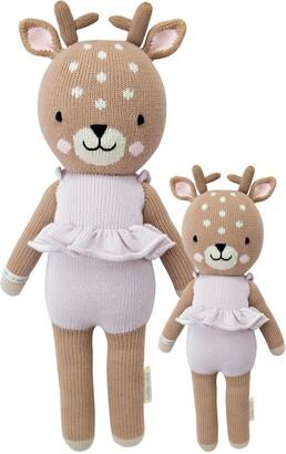 Cuddle+Kind cuddle + kind Mini Violet the Fawn Stuffed Animal