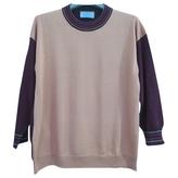 Prada Burgundy Silk Knitwear