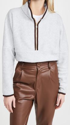 DONNI Polar 1/2 Zip Sweatshirt