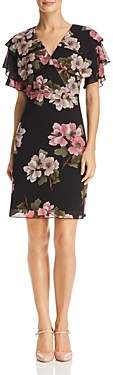 Nanette Lepore Nanette nanette Ruffled Floral Dress