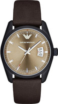 Emporio Armani AR6081 ion-plated steel watch